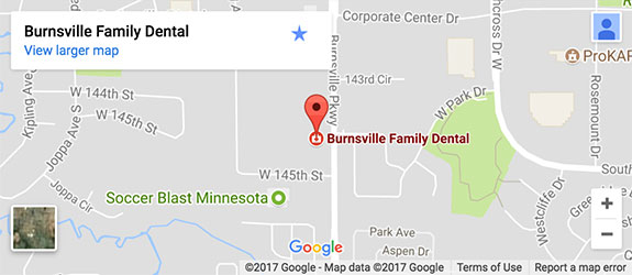 Map---Burnsville-Family-Dental